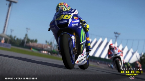 valentino rossi,the game,motogp 16,test,avis,milestone