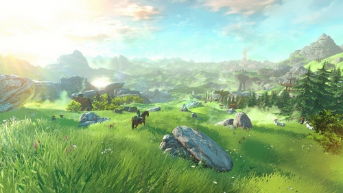 zelda,breath of the wild,impressions,preview,wii u,nx