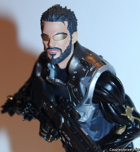 deus ex mankind divided,deux ex,collector,déballage,adam jensen,figurine