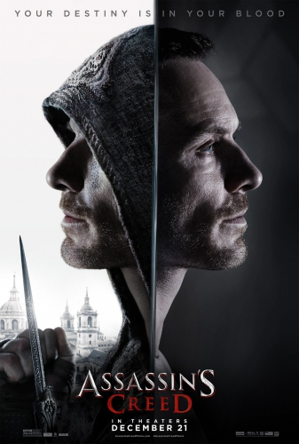 assassin's creed,film,trailer,michael fassbender