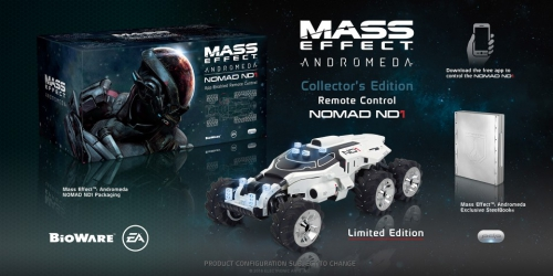 mass effect,mass effect andromeda,collector,bioware,deluxe,bioware store,nomad nd1