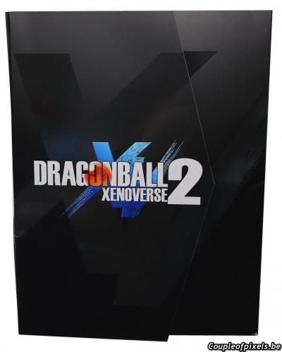 dragon ball xenoverse 2,déballage,kit presse,goodies