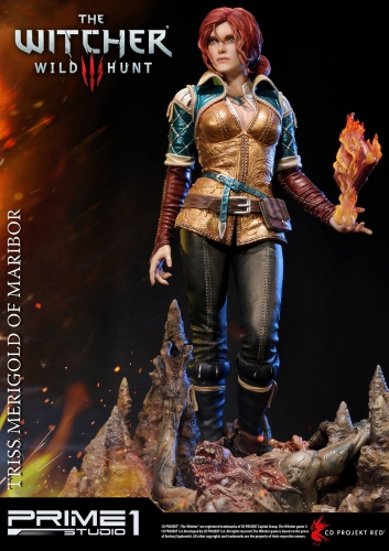 triss,triss merigold,witcher,the witcher 3,statuette,statue,figurine,sideshow,prime 1 studio
