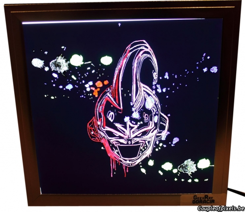 concours,dragon ball,art,neon art,gagner,cadeaux