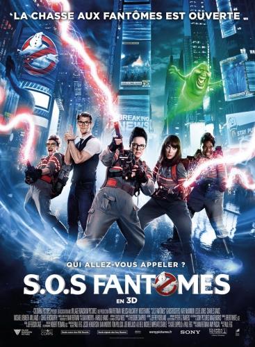 cinéma,dvd,blu ray,ghostbusters,sos fantômes,reboot,avis,critique