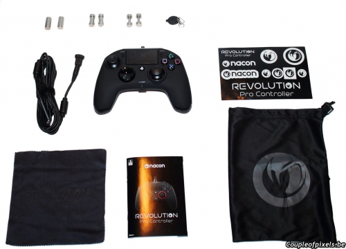 nacon,revolution pro,controller,pad,elite,test,avis