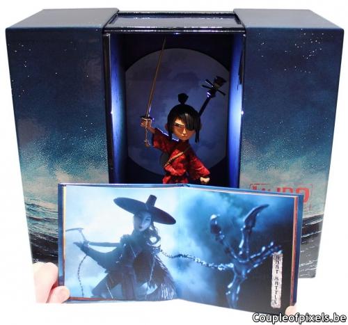 kubo,kubo et l'armure magique,buzz kit,statuette,figurine,déballage