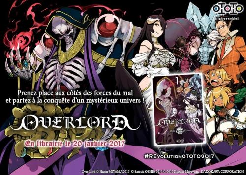 overlord,manga,ototo,critique,avis