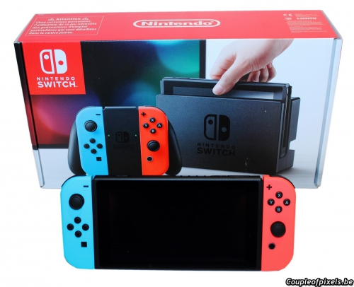 nintendo,switch,déballage,unboxing,impressions,preview