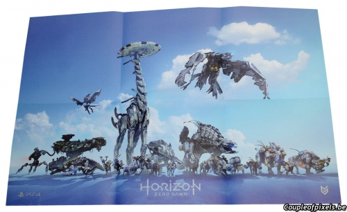 horizon zero dawn,déballage,unboxing,kit presse,press kit