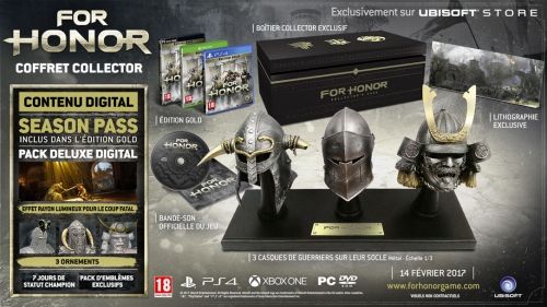 concours,for honor,collector,cadeaux,gagner