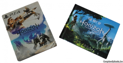 déballage, unboxing, horizon zero dawn, ps4,avis
