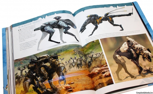 artbook,horizon zero dawn,craquage,guerrilla games