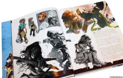 artbook,horizon zero dawn,craquage,guerrilla games