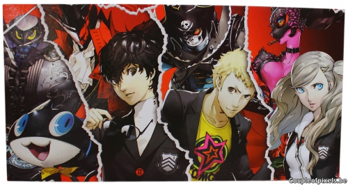 persona 5,atlus,déballage,unboxing,collector,edition premium,take your heart