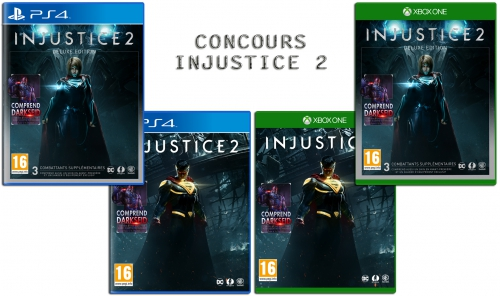 concours,gagner,cadeaux,injustice 2