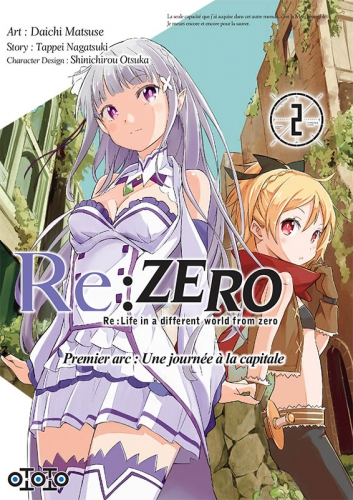 re:zero,re:life in a different world from zero,premier arc,ototo,manga,avis,critique