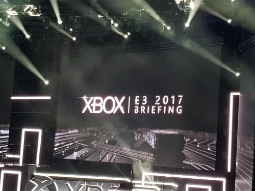 e3 2017,xbox,xbox one x,conférence,impressions,résumé