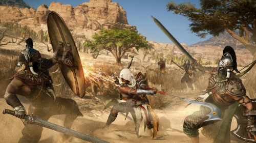 assassin's creed origins,preview,impressions,e3 2017