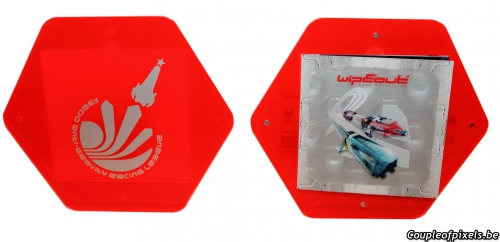 wipeout omega collection,kit presse,press kit,déballage,unboxing