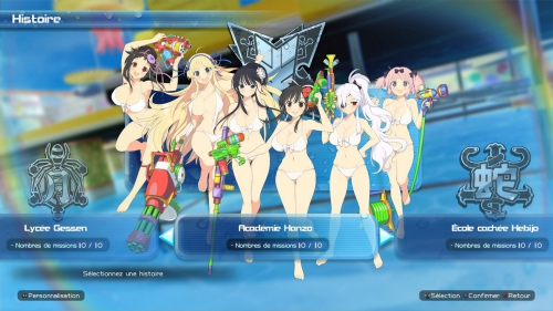 senran kagura peach beach splash,preview,impressions,marvelous