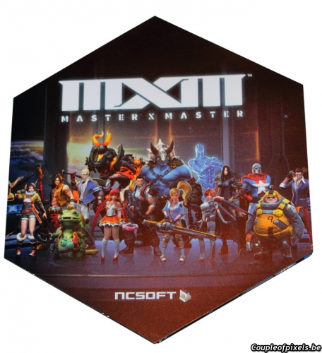 master x master,ncsoft,moba,déballage,unboxing,kit presse,press kit