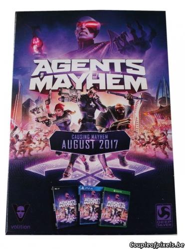 agents of mayhem,déballage,unboxing