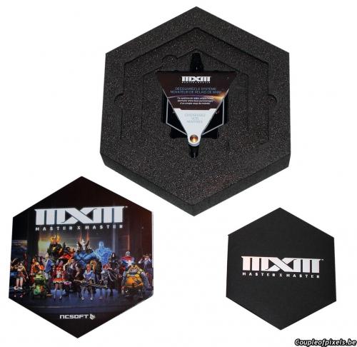 master x master,ncsoft,moba,déballage,unboxing,kit presse,press kit