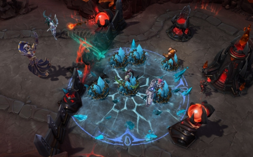 heroes of the storm,interview,alan dabiri,kyle dates,hots,blizzard,gamescom 2017