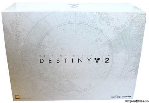 destiny 2,collector,unboxing,déballage,activision