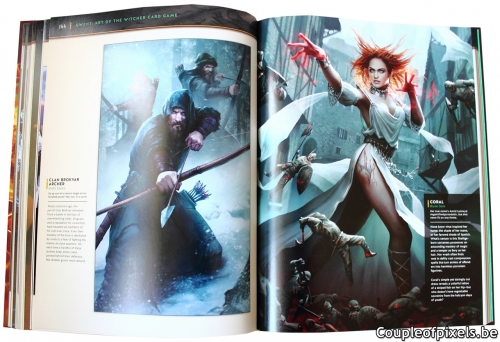 artbook,gwent,art of the witcher card game,cd projekt red,witcher,witcher 3