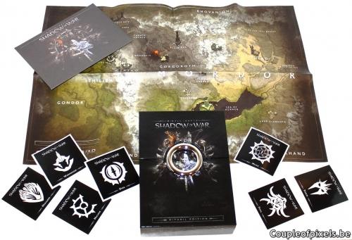 monolith,l'ombre de la guerre,la terre du milieu : l'ombre de la guerre,la terre du milieu,shadow of war,warner,déballage,unboxing
