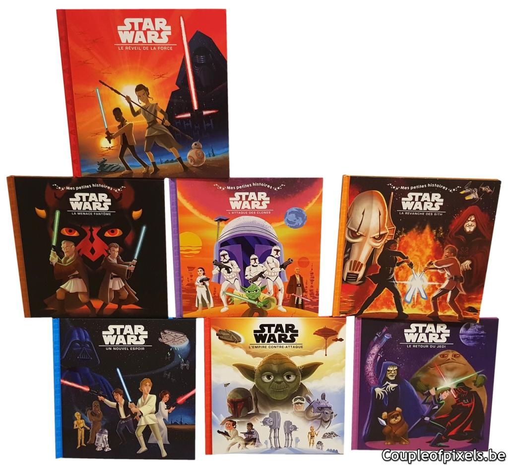 Des Livres Pour Enfants Star Wars Epatants Couple Of Pixels
