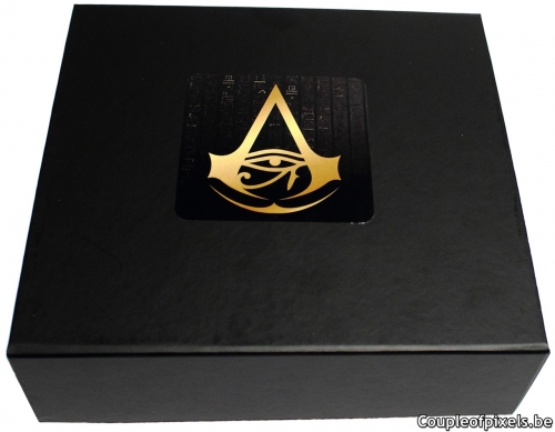 assassin's creed origins,kit presse,press kit,déballage,unboxing,ubisoft