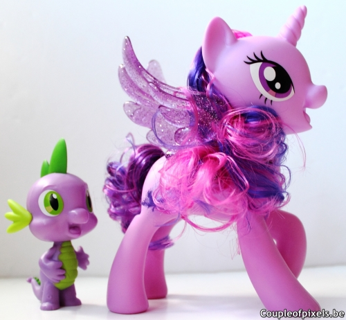 my little pony,my little pony le film,jouet,twilight sparkle et spike duo chantant,hasbro,avis,déballage,unboxing
