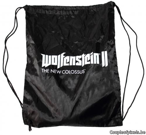 wolfenstein 2,kit presse,press kit,unboxing,bethesda