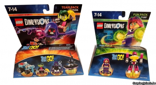 lego dimensions,vague 9,wave 9,teen titans,super nanas,beetlejuice,test,avis