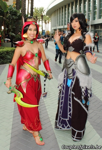 blizzcon 2017,blizzcon,cosplay,sexy,photos