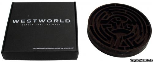 westworld,saison 1,déballage,unboxing,pressk kit,kit presse