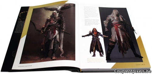 assassin's creed,assassin's creed origins,artbook,tout l'art d'assassin's creed origins,ubisoft,avis,critique