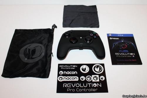 nacon,revolution pro controller 2,test,avis,accessoires,manette elite,pad elite