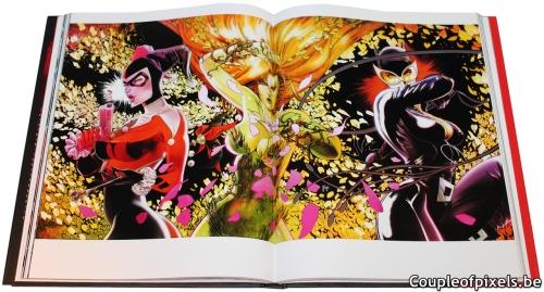 artbook,the art of harley quin,the art of,comics,harley quinn,l'histoire démente d'une nouvelle icone