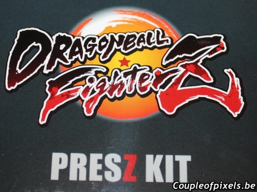 déballage,unboxing,dragon ball fighterz,kit presse,press kit