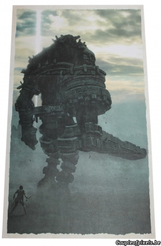 shadow of the colossus,déballage,unboxing,kit presse,press kit