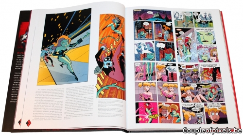 artbook,the art of harley quin,the art of,comics,harley quinn,l'histoire démente d'une nouvelle icone