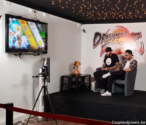 launch event,soirée de lancement,dragon ball fighterz