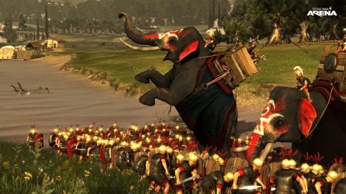 total war arena,preview,impressions,beta,wargaming