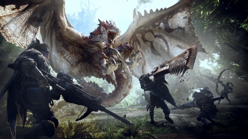monster hunter world,capcom,test,avis,ps4,xbox one