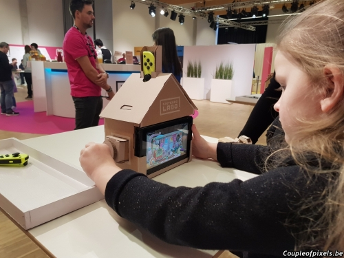 nintendo labo,geek junior,impressions,prise en main,preview,enfants