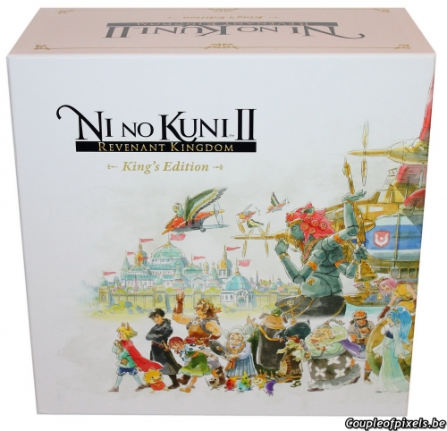 ni no kuni 2,revenant kingdom,déballage,unboxing,collector,kings edition